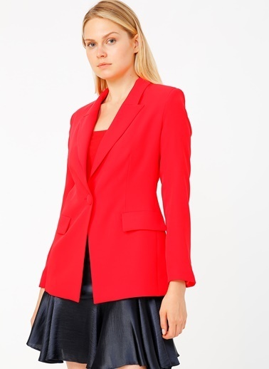 Random Ceket Kırmızı